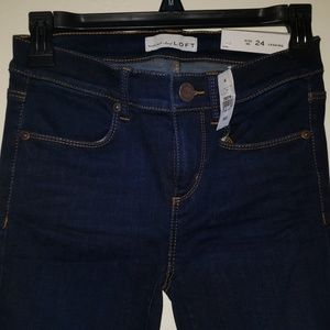 New with Tags Womens LOFT Legging Jeans Size 00/24